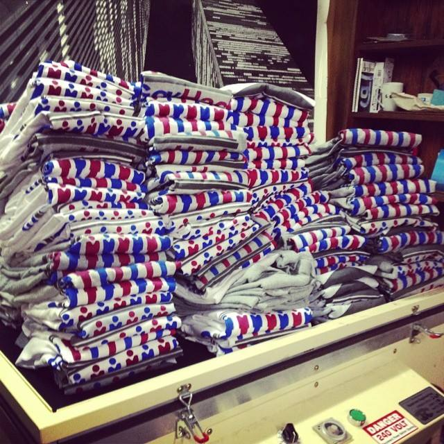 GovHack t-shirts
